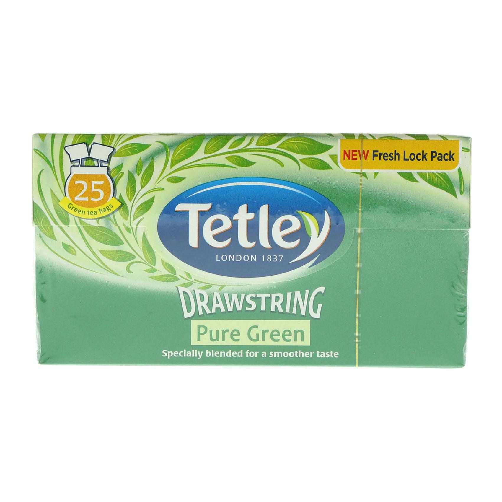 TETLEY GREEN TEA 25'S  52.5G