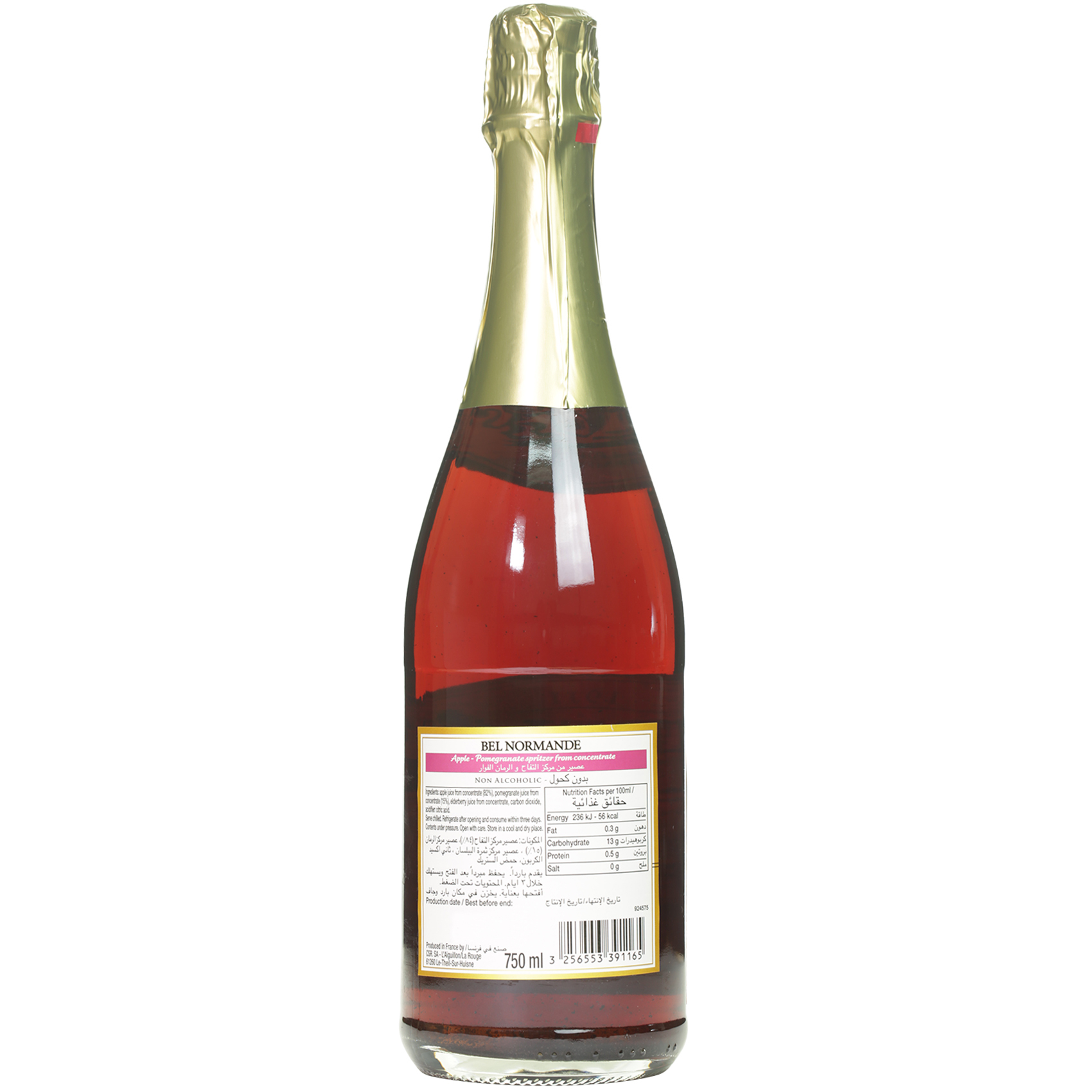 BEL NORMANDE POMEGRANTE APPLE 750ML