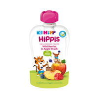 Hipp Hippis Wild Berries In Apple Peach Pouch From 4 Months 100GR