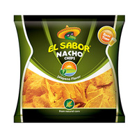 El Sabor Nacho Chips Jalapeno 65GR