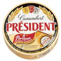 President Camembert Cheese Portions 250g