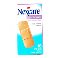 Nexcare Sheer Bandages One Size 10 Bandages