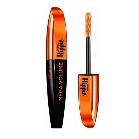 ab6e8852712 Buy L'OREAL Mascara Miss Hippie Mega Volume Black No.01 Online ...