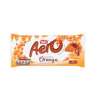 Nestle Aero Chocolate & Orange Bar 100GR