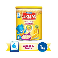 Cerelac  Care Wheat Fruits 6 Months 1KG