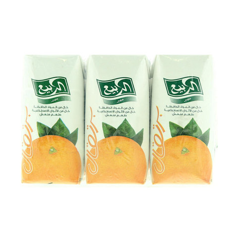 Al-Rabie-Orange-Juice-200mlx9