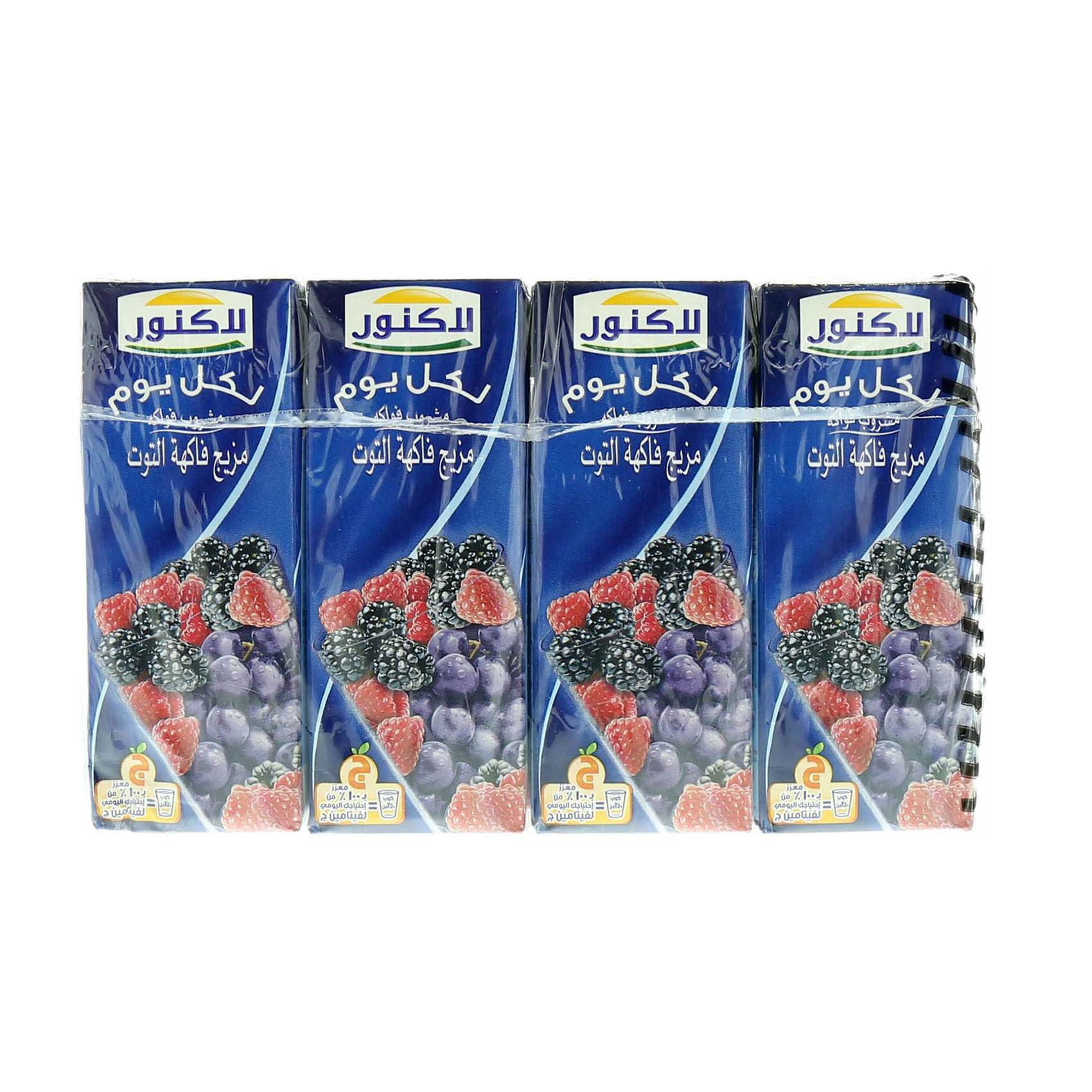 LACNOR MIXED BERRIES 180MLX8