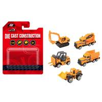 Power Joy VroomVroom Diecast Construction (Assorted)