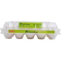 Carrefour Fresh White Eggs Medium x15