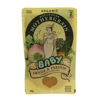 Quinola Mothergrain Organic Baby Swede & Parsnip, Carrot & Quinoa 190g
