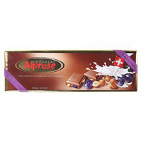 Alprose Milk Chocolate With Raisins And Whole Hazelnuts 300g