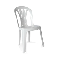 Plastic Chair Without Arms