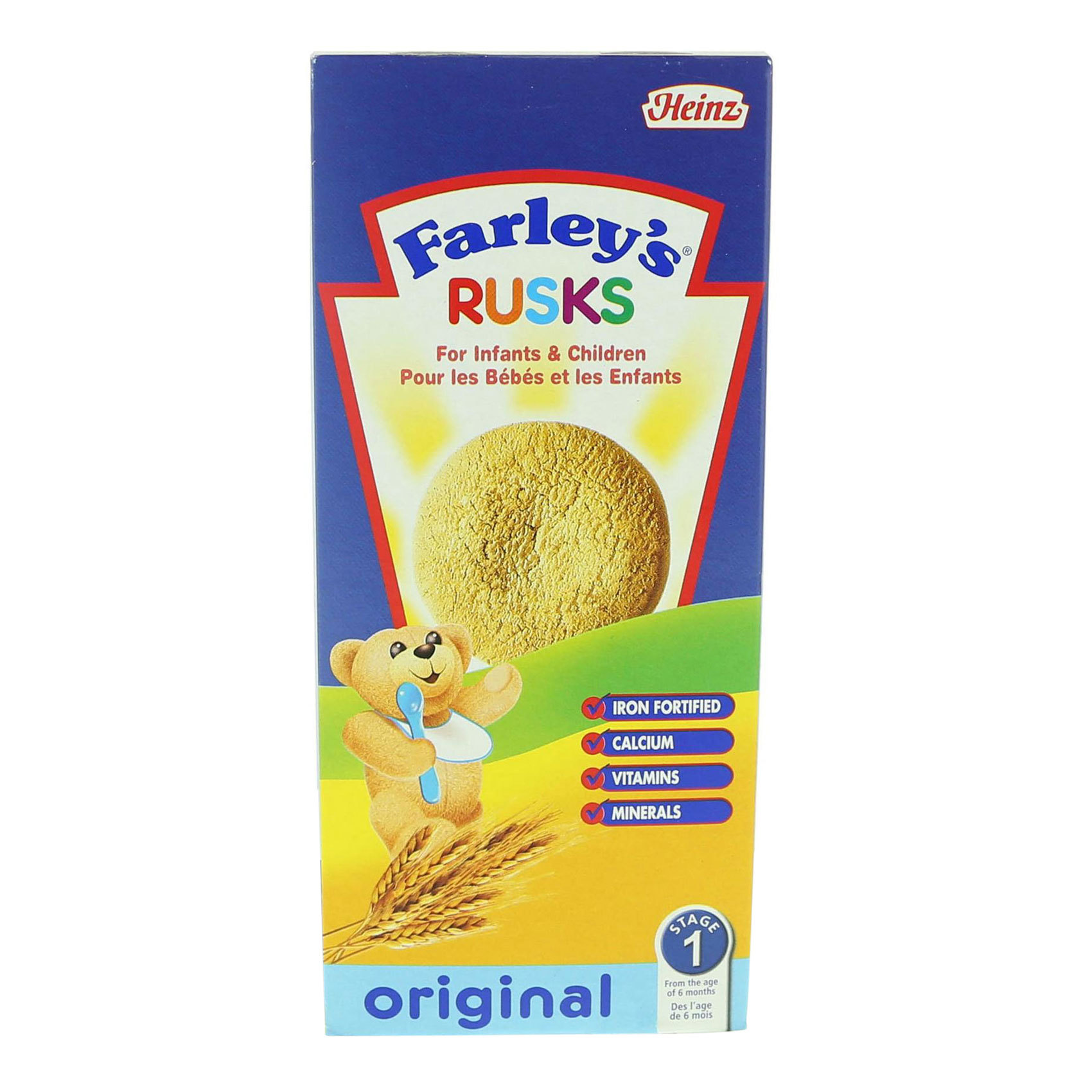 FARLEYS RUSKS ORIGINAL 150G