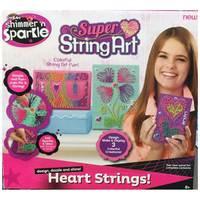 Cra Z Art-Shimmer N Sparkle Super String Art love