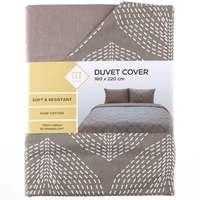 TEX Quilt Cover Single Beige