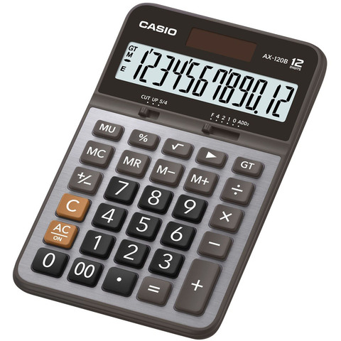 Casio-Desktop-Calculator-Ax-120B