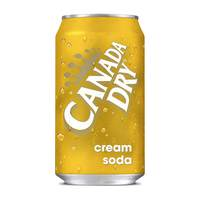 Canada Dry Cream Soda 330ml