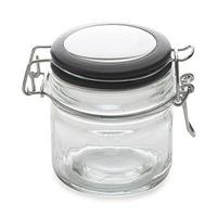 Maxwell & Williams Cosmopolitan Colours Clip Top Jar Black 100ML