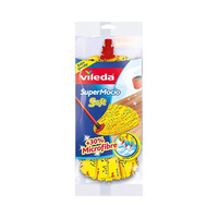 Vileda Super Mocio Soft Refil Mop Yellow