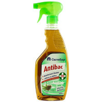 Carrefour Antibac Disinfectant Surface Cleaner Pine 500ml