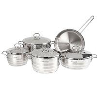Korkmaz Astra Cooking Set 9Pc Steel