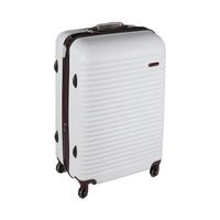 Blue Bird Abs  Hard Luggage4 Wheels Size 28 Inch  White