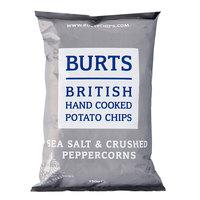 Burts British Hand Cooked Potato Chips Sea Salt & Crushed Peppercorns 150g
