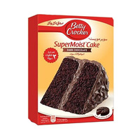 Betty Crocker Super Moist Cake Chocolate Dark 517GR