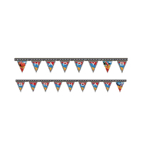 Disney Cars RSN Happy Birthday Banner