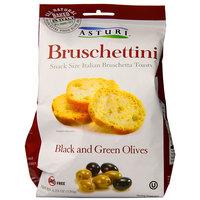 Asturi Bruschettini Black and Green Olives 120 g