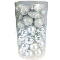 Balls Set 60Pcs /6cm Silver