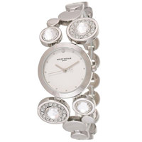 Mount Royale Women's Watch White Dial Stainless Steel Band Dress-21400