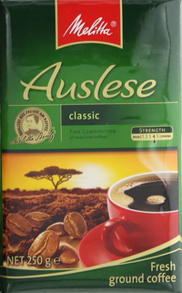 Melitta Auslese Classic Ground Coffee 250g