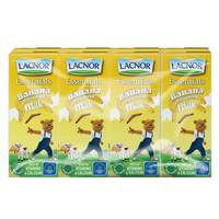 Lacnor Essentials Banana Flavoured Milk 180mlx8