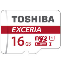 Toshiba Micro SD 16GB M302 90MB/S Red