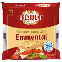 President Slice Cheese Toast with Emmental 200g