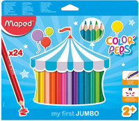 Maped Color Peps Jumbo Pencil 24Color