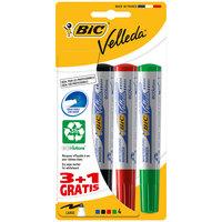 BIC Velleda White Board Marker 3+1