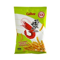 Calbee Prawn Crackers Spicy Flavored 70g