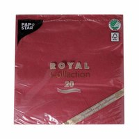 Papstar Royal Napkins 40X40 Cm 20 Pieces Red
