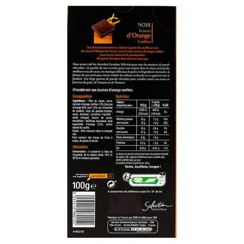Carrefour-Selection-Chocolate-Dark-Orange-100g