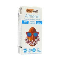 Eco Mil Almond Milk Sugar Calcium Free 1L