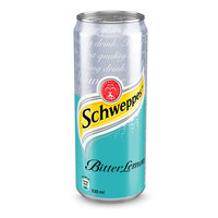Schweppes Bitter Lemon Can 330ml