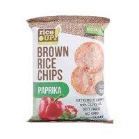 رايس أب براون شيبس بنكهة البابريكا خالي من الغلوتين 25 غرام