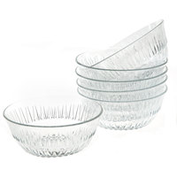 Lav Alinda Glass Bowl 6Pcs 34Cl