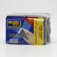 Maog Steel Wool Rolls 3 x 8 Pieces