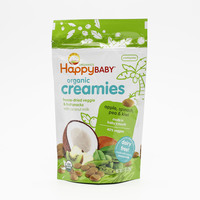 HappyBaby Organic Creamies Freeze With Coconut Milk Apple Spinach Pea & Kiwi 28 g