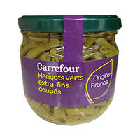 Carrefour Beans Green Cuted 370ML