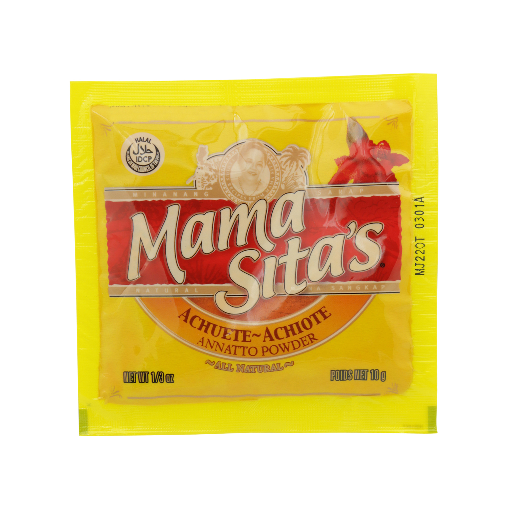 MAMASITA'S ANNATTO FOOD COLOR 10G
