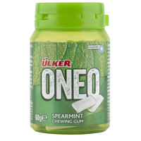 Ulker Oneo Cchewing Gum Spearmint 60g
